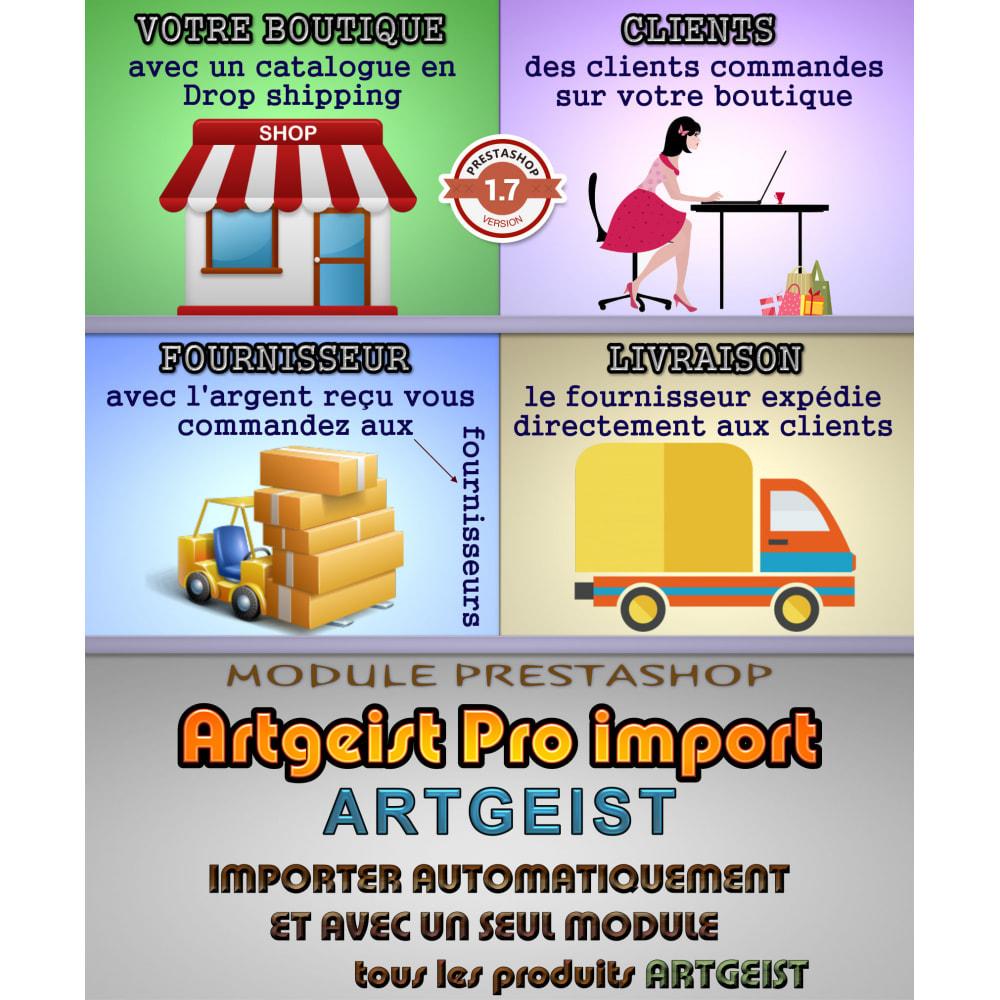module - Import & Export de données - Artgeist Pro import dropshipping - 1
