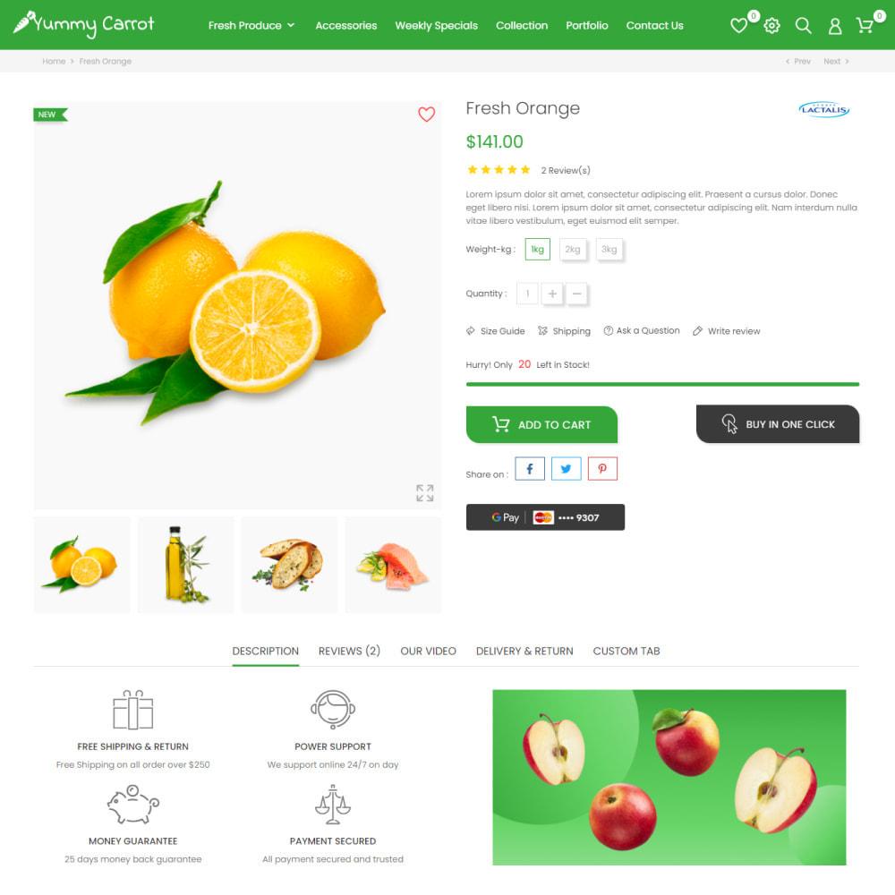 theme - Żywność & Restauracje - Żywność & Restauracje, Supermarket, Wino, Kawa, Herbata - 6