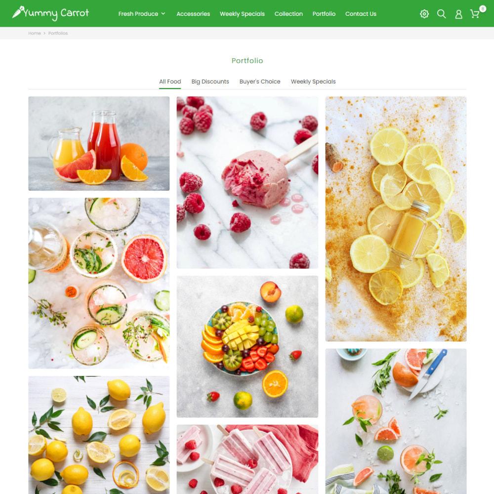 theme - Продовольствие и рестораны - Продовольствие и рестораны, Органика, Вино, Кофе, Чай - 8