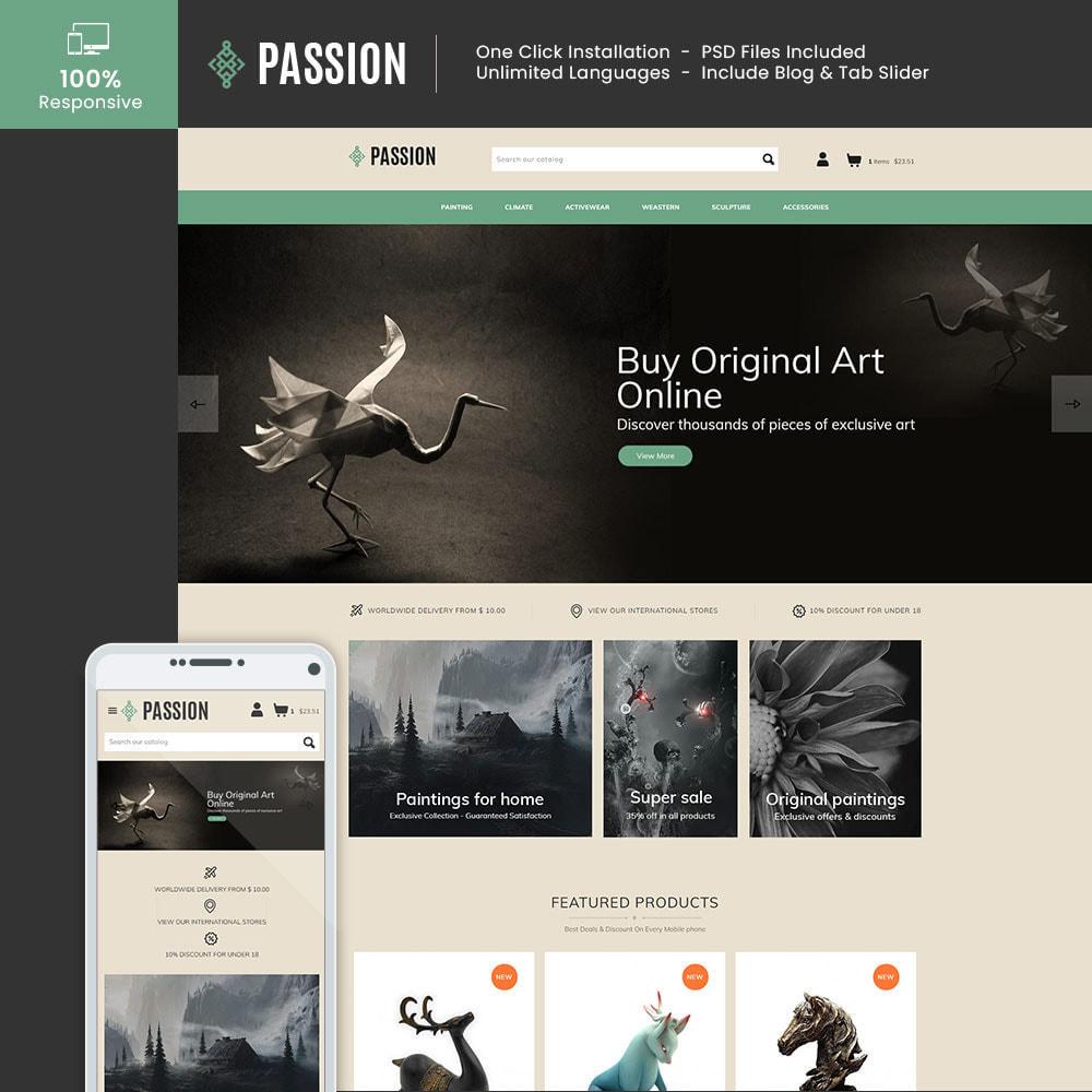 theme - Kultura & Sztuka - Passion Art  - Paint Handcraft Statue Store - 1