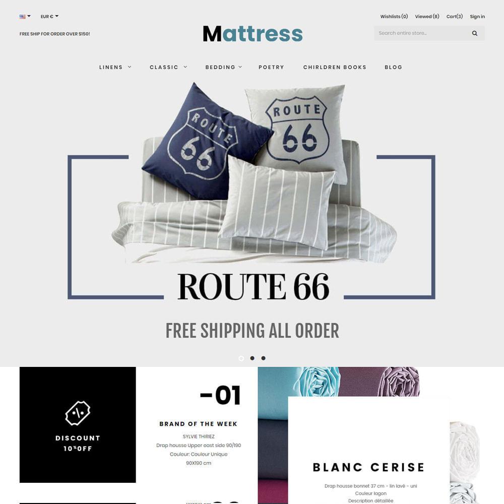 theme - Fashion & Shoes - Pillow & Mattress Store - 1