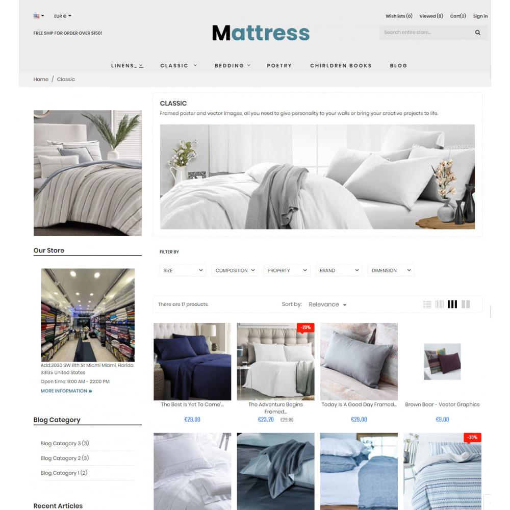 theme - Fashion & Shoes - Pillow & Mattress Store - 6