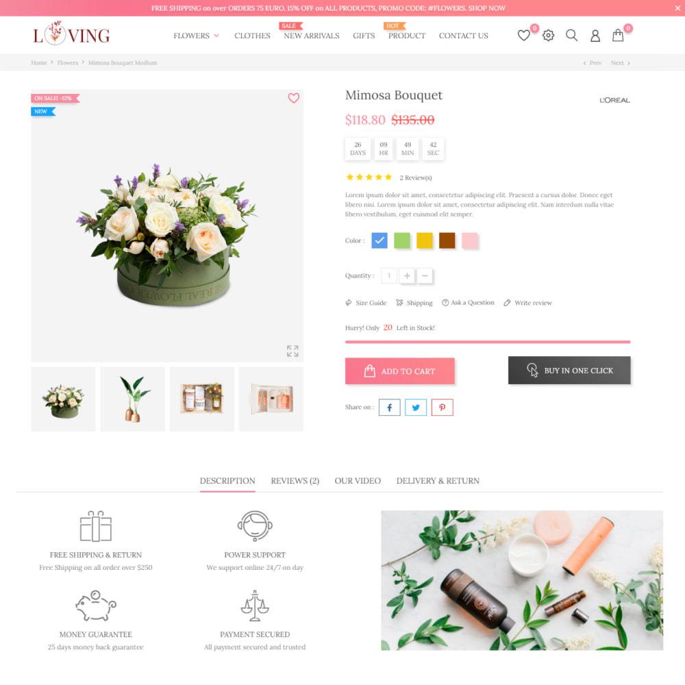 theme - Prezenty, Kwiaty & Uroczystości - Kwiaty i Prezenty - Uroda i Kosmetyki, Uroczystości - 6