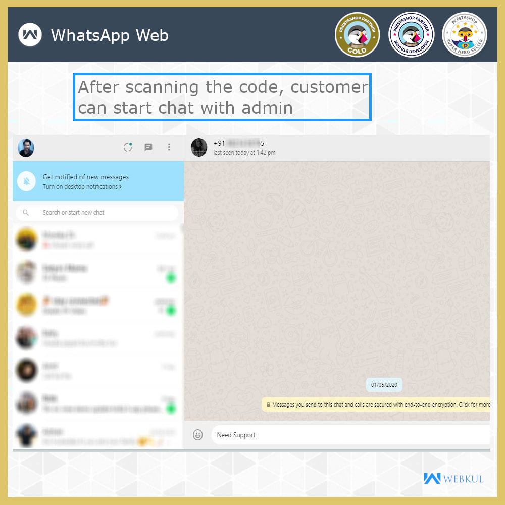 module - Supporto & Chat online - WhatsApp Live Chat | WhatsApp Share | WhatsApp Support - 4