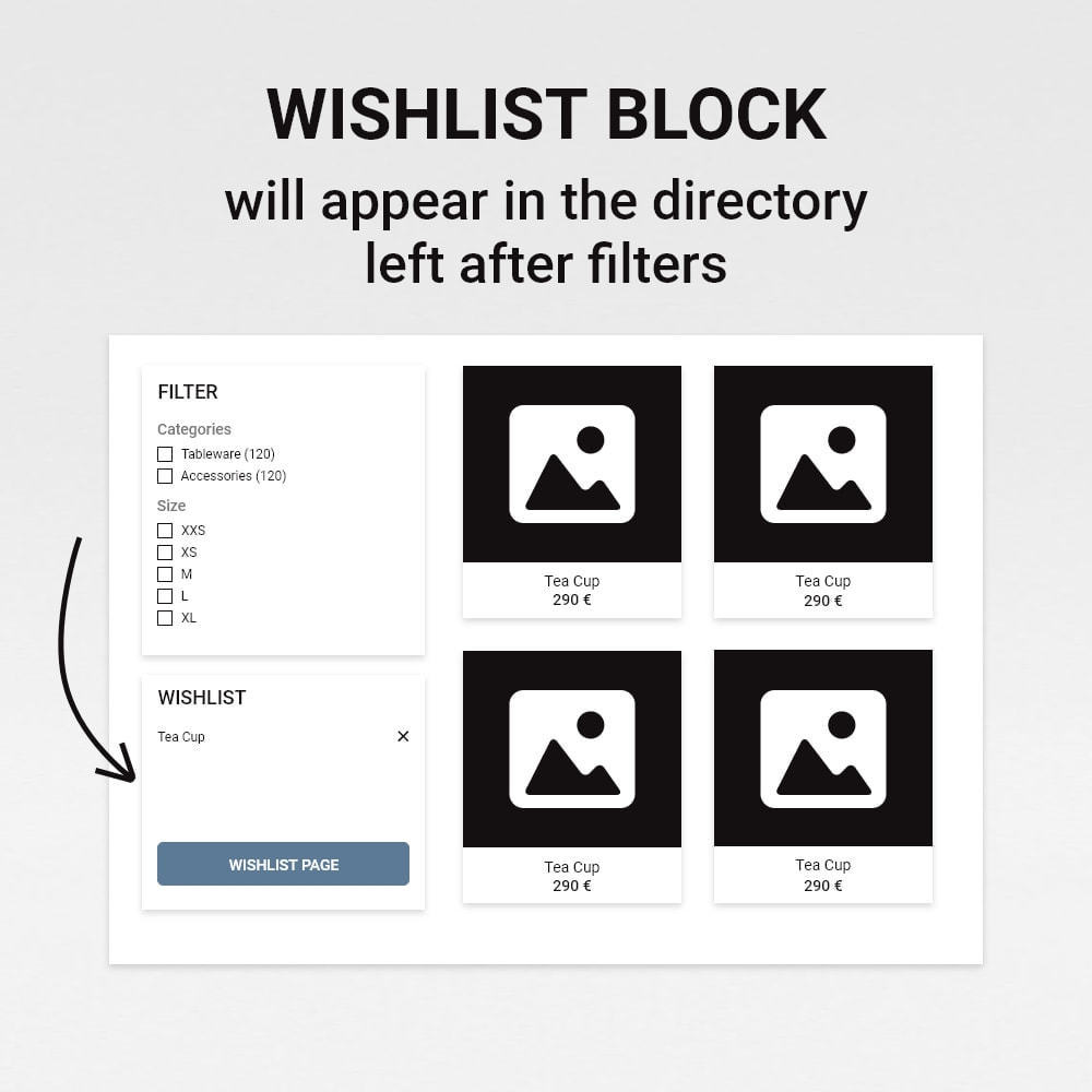 module - Wishlist & Gift Card - Wishlist / Favorite products - 11
