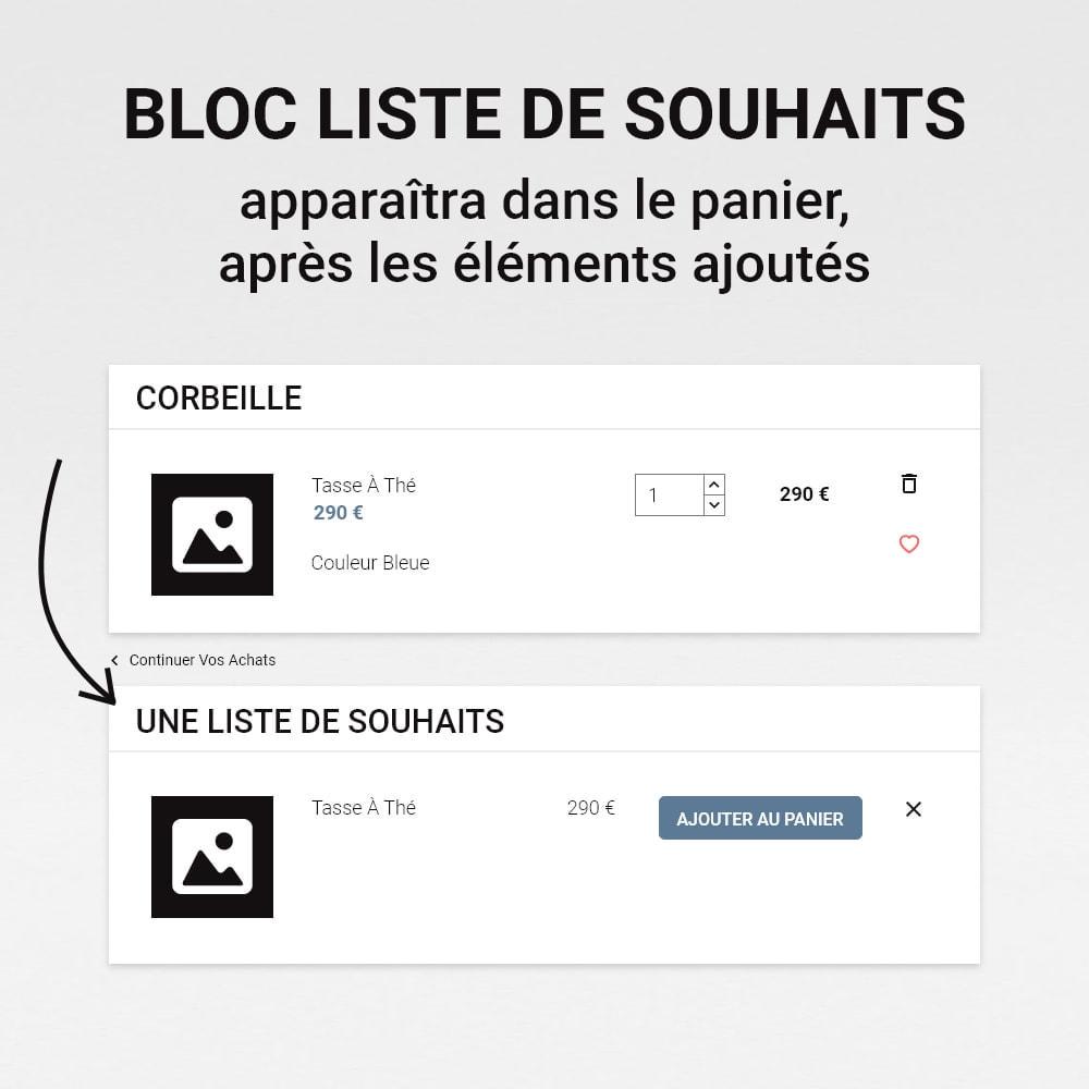module - Liste de souhaits & Carte cadeau - Liste de souhaits - 10