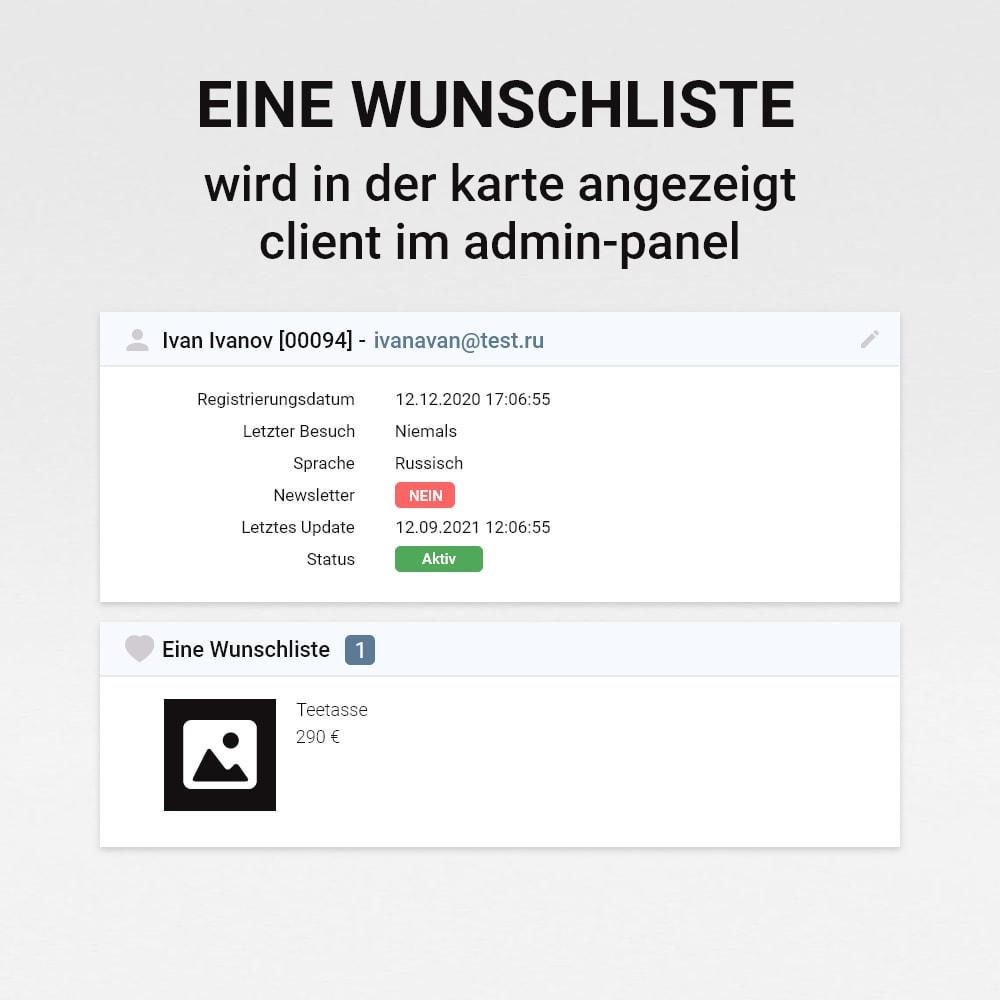 module - Wunschzettel & Geschenkkarte - Wunschliste - 13