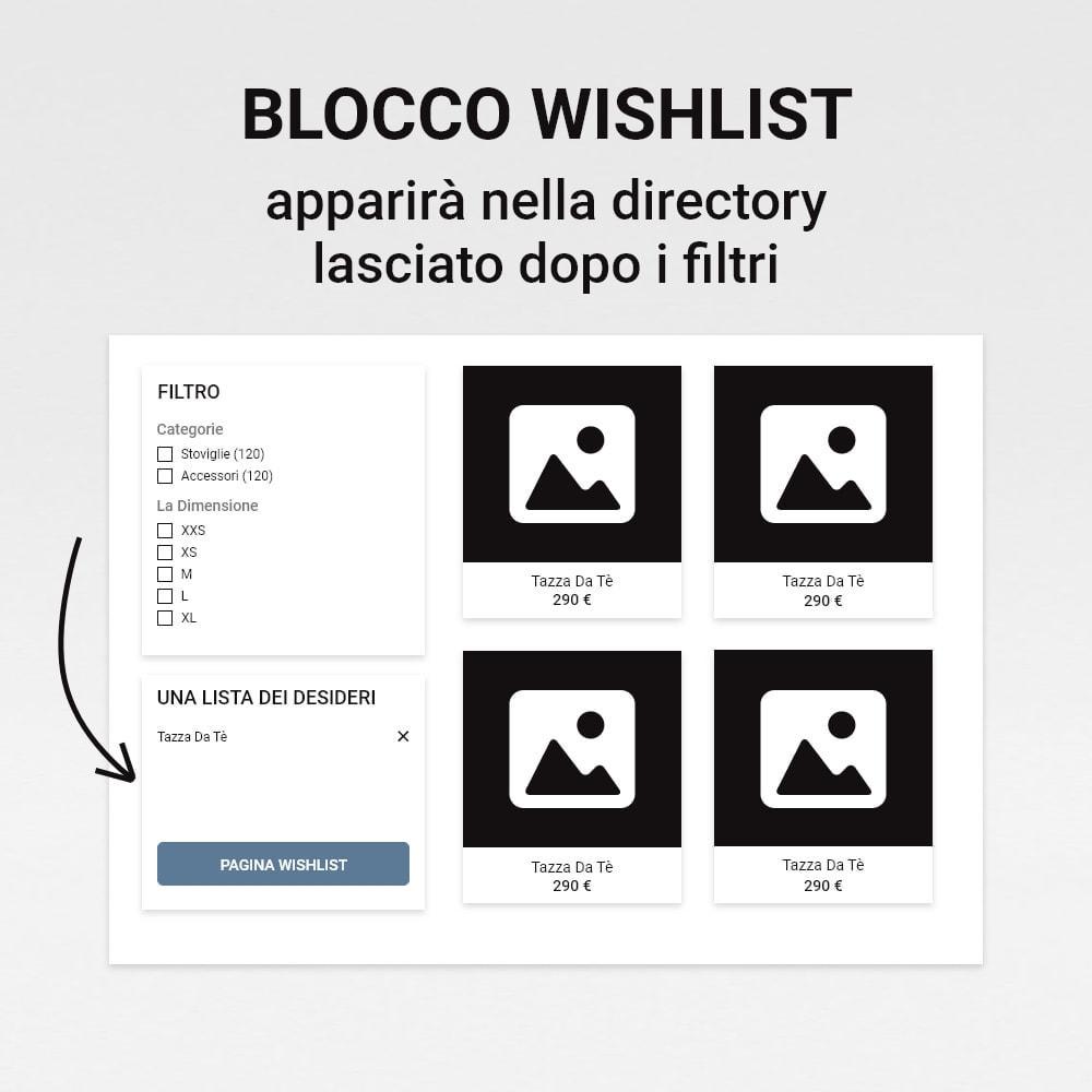 module - Whishlist & Gift Card - Lista dei desideri - 11