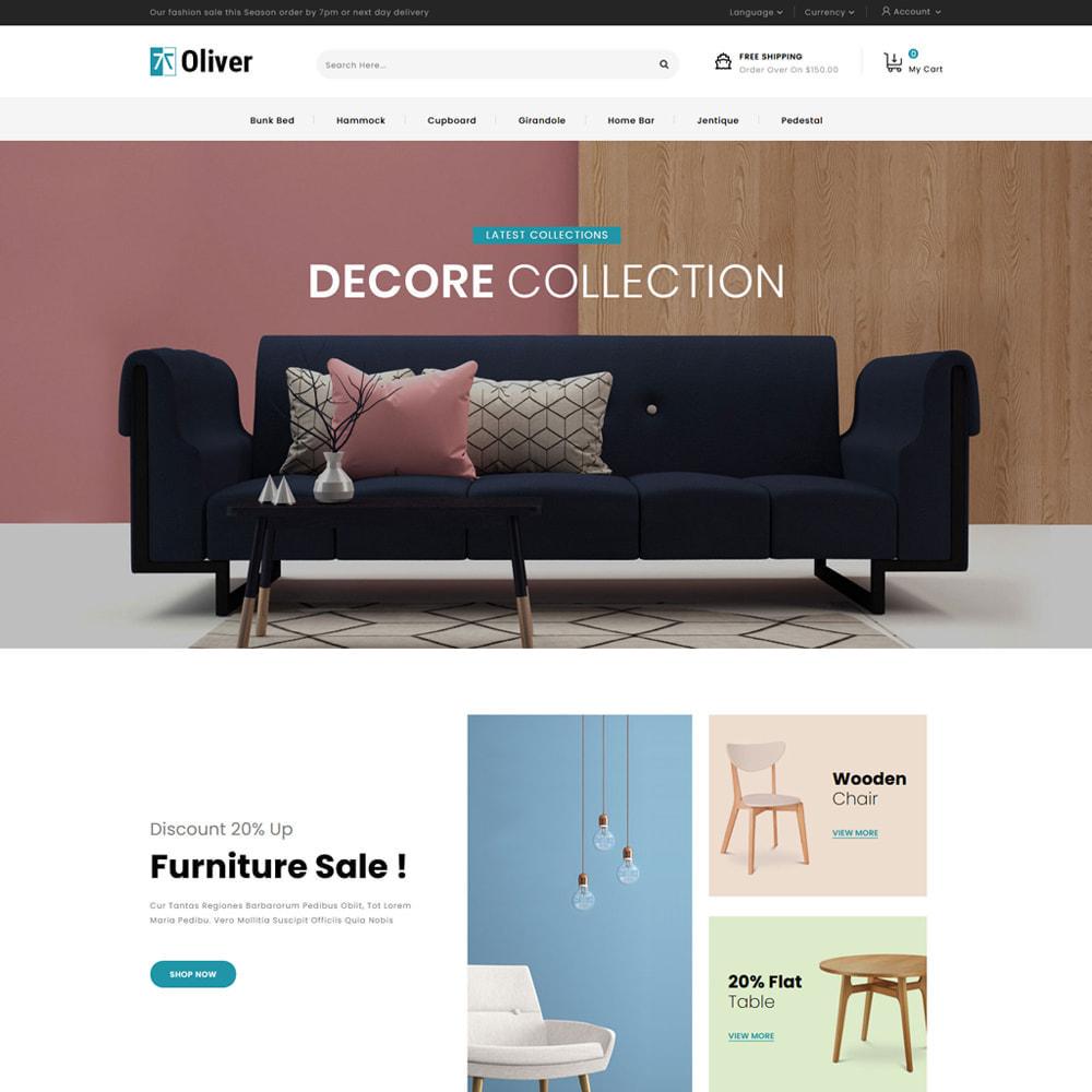 theme - Dom & Ogród - Oliver - Furniture Store - 2