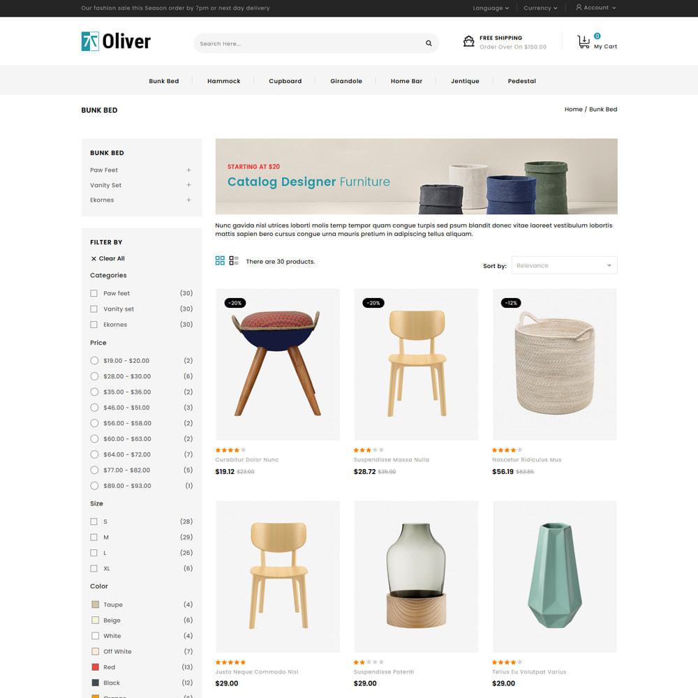 theme - Dom & Ogród - Oliver - Furniture Store - 3