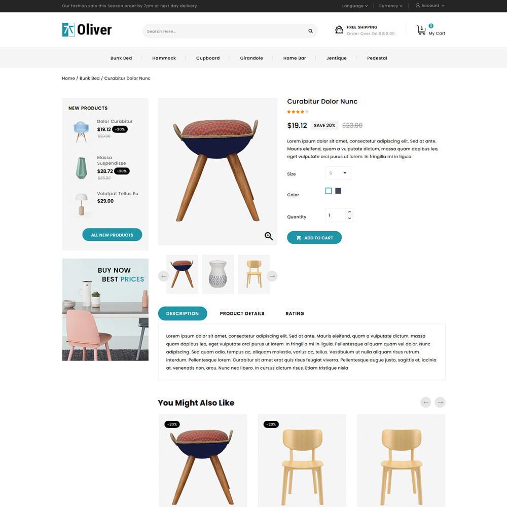 theme - Dom & Ogród - Oliver - Furniture Store - 4
