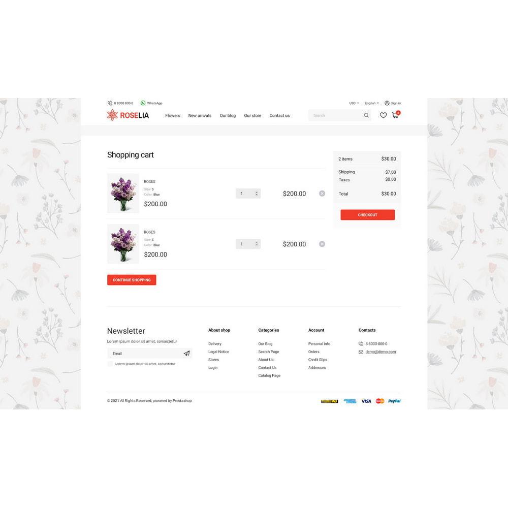 theme - Presentes, Flores & Comemorações - Roselia - 14