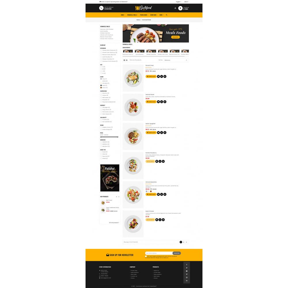 theme - Alimentation & Restauration - Gusto Food & Restaurants - 8