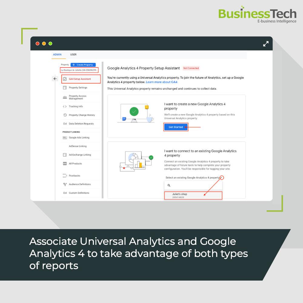 module - Informes y Estadísticas - Google Analytics : GA4 y Universal-Analytics - 2