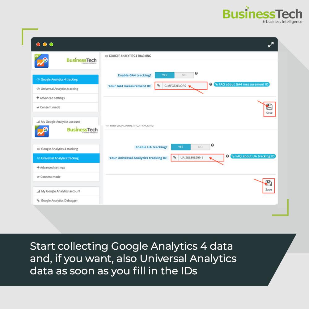 module - Informes y Estadísticas - Google Analytics : GA4 y Universal-Analytics - 3