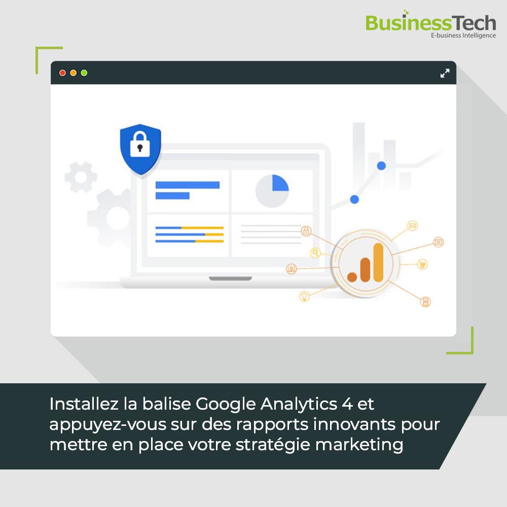 module - Analyses & Statistiques - Google Analytics : GA4 et Universal-Analytics - 1