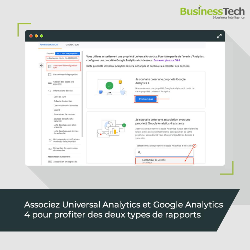 module - Analyses & Statistiques - Google Analytics : GA4 et Universal-Analytics - 2