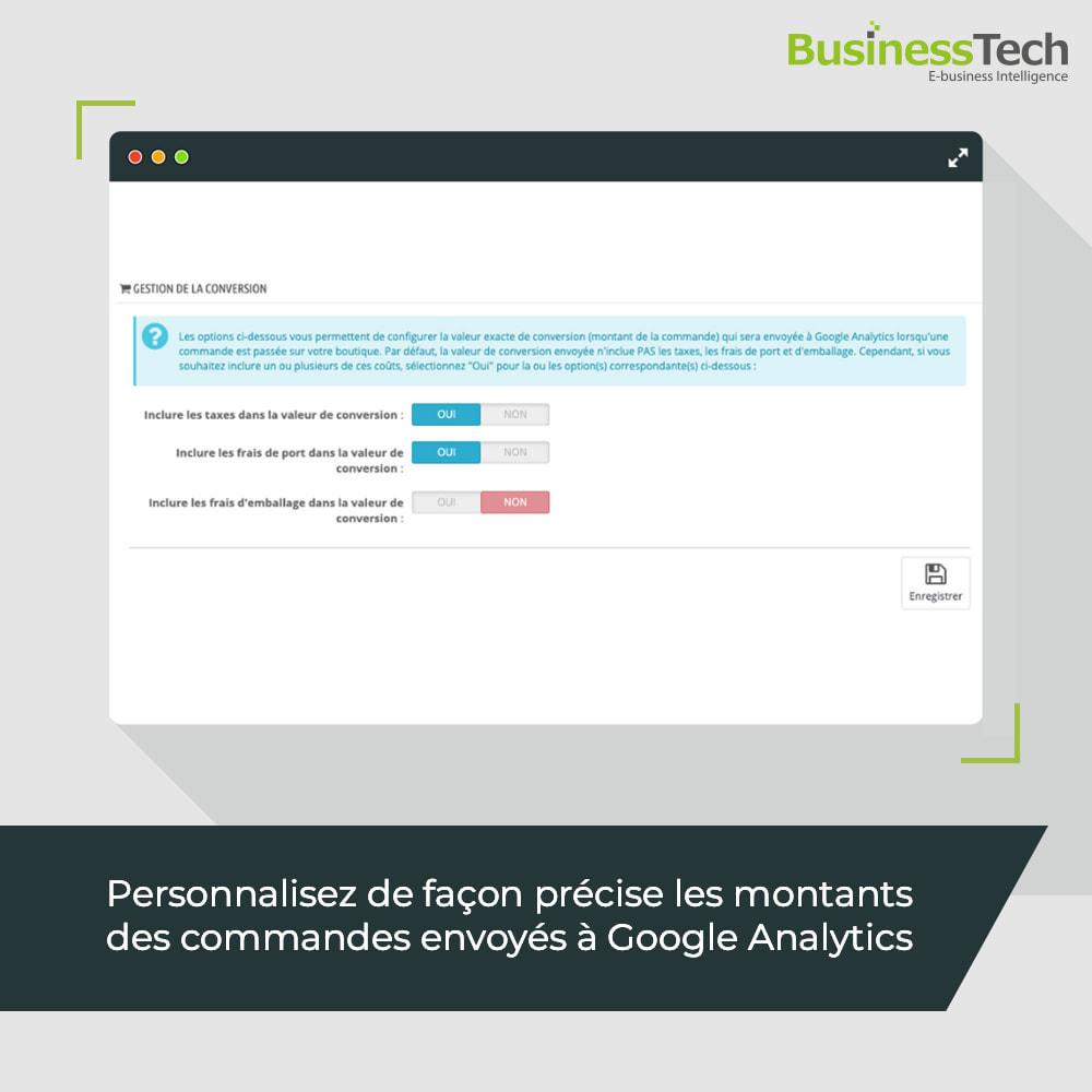 module - Analyses & Statistiques - Google Analytics : GA4 et Universal-Analytics - 5