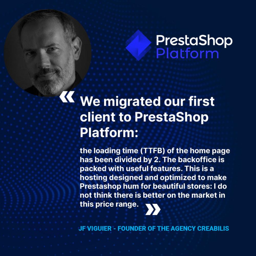 service - Hosting - PrestaShop Platform - 1