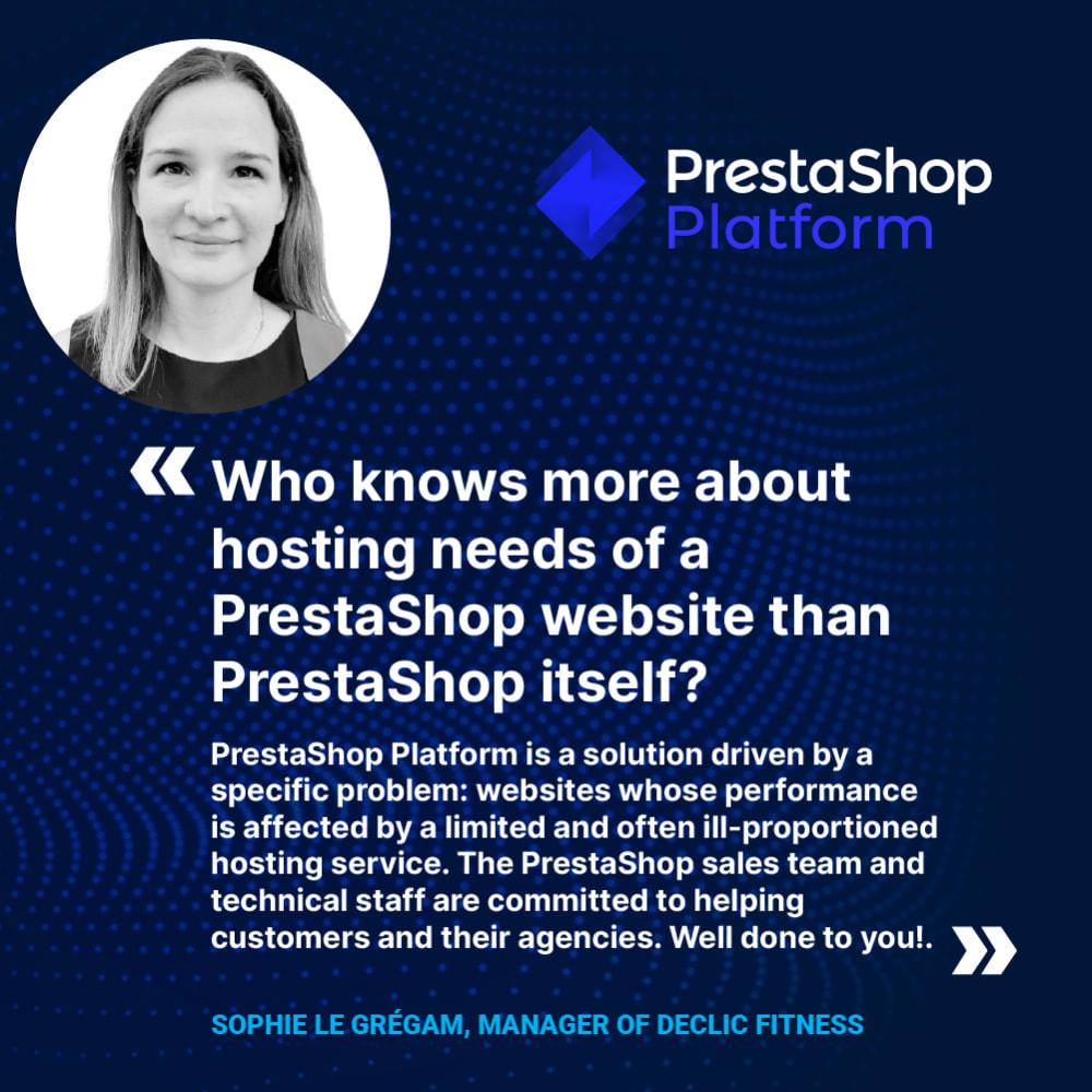 service - Hosting - PrestaShop Platform - 2