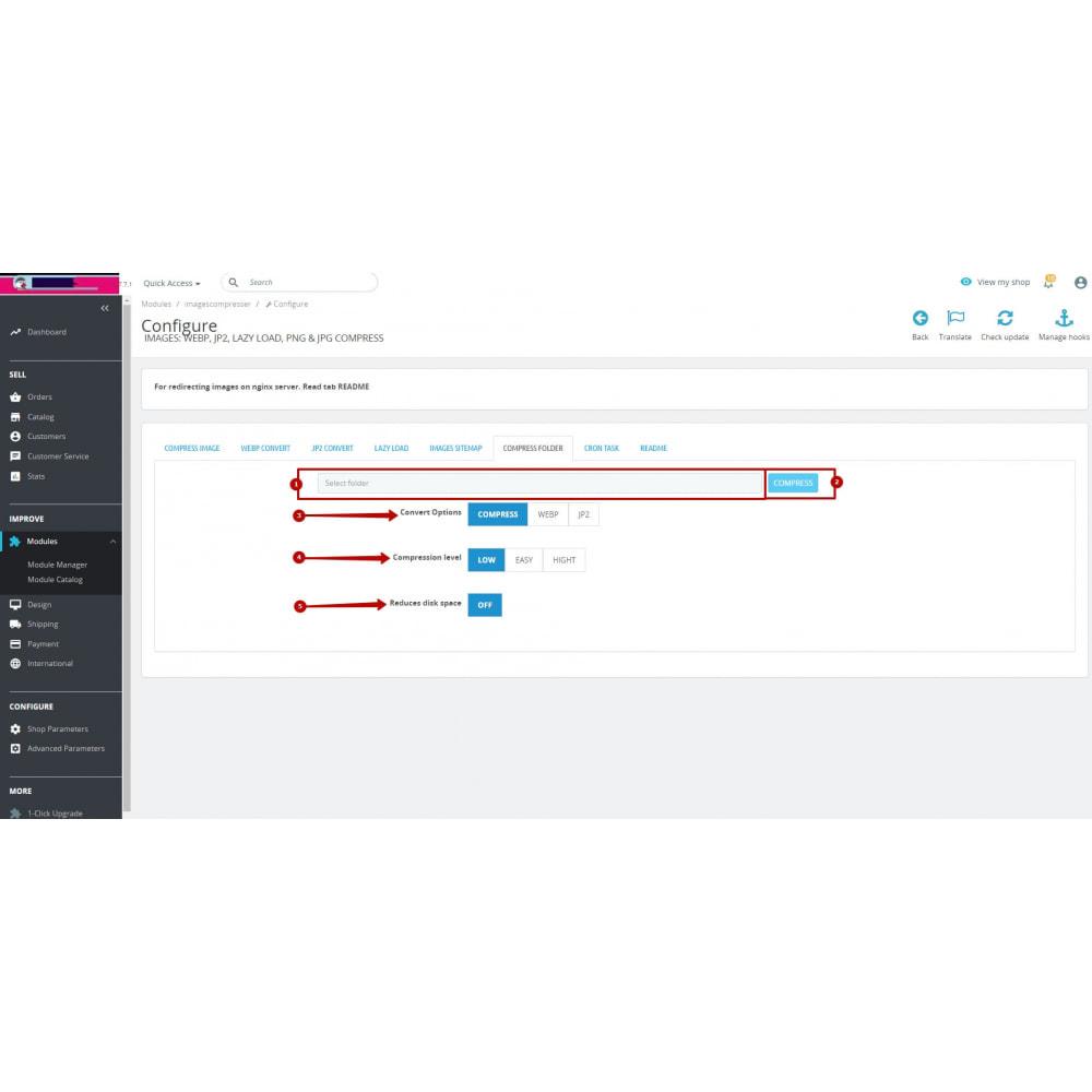 module - Visual Products - Image Convert: webp, jp2, lazy load, png & jpg compress - 17