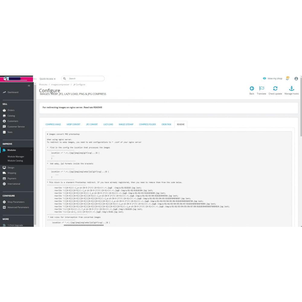 module - Visual Products - Image Convert: webp, jp2, lazy load, png & jpg compress - 19