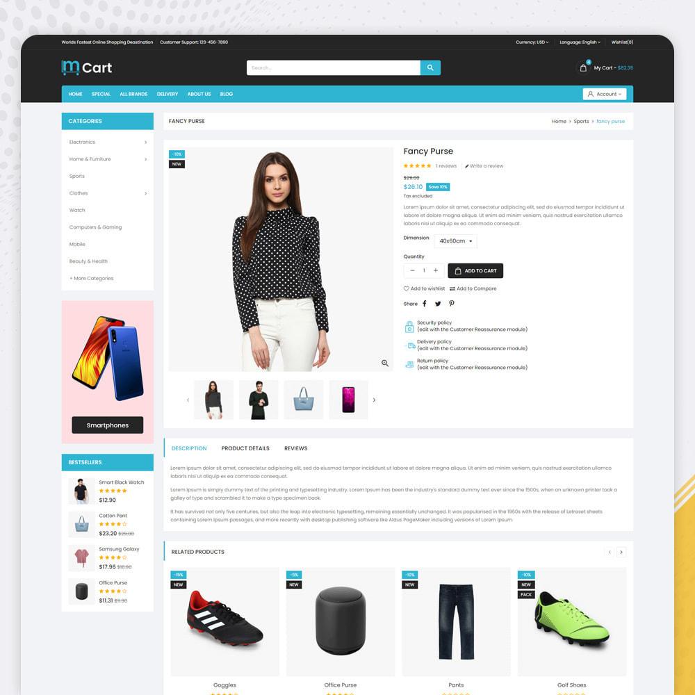 theme - Fashion & Shoes - MCart - Supermarket Store - 4