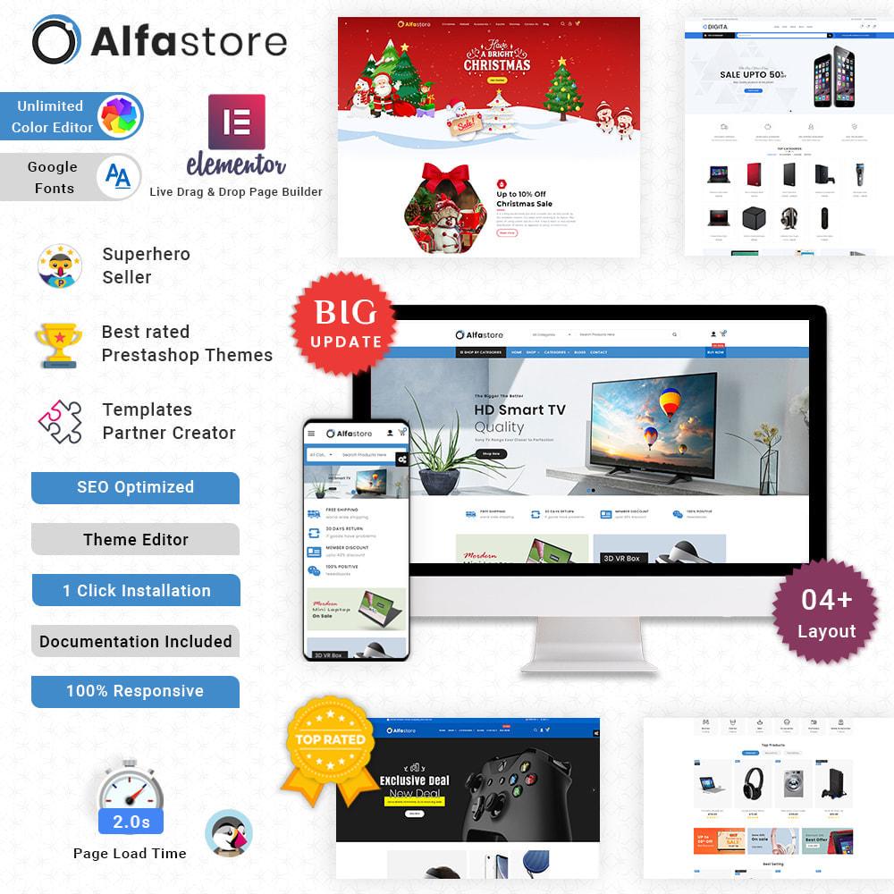 theme - Elektronik & High Tech - Alfa Mega Electronics - Multipurpose Super Store - 1