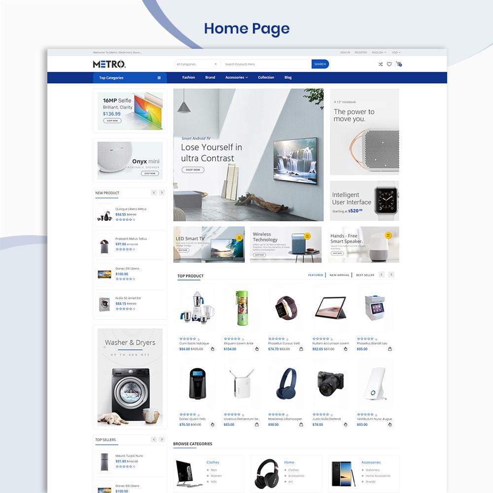 theme - Elektronik & High Tech - Metro Mega Electronics Multi Store - 2