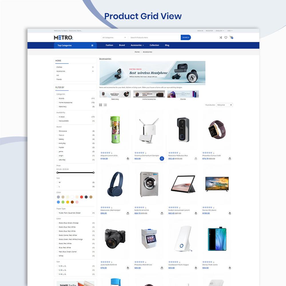 theme - Elektronik & High Tech - Metro Mega Electronics Multi Store - 3