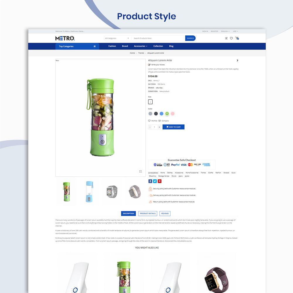 theme - Elektronik & High Tech - Metro Mega Electronics Multi Store - 4
