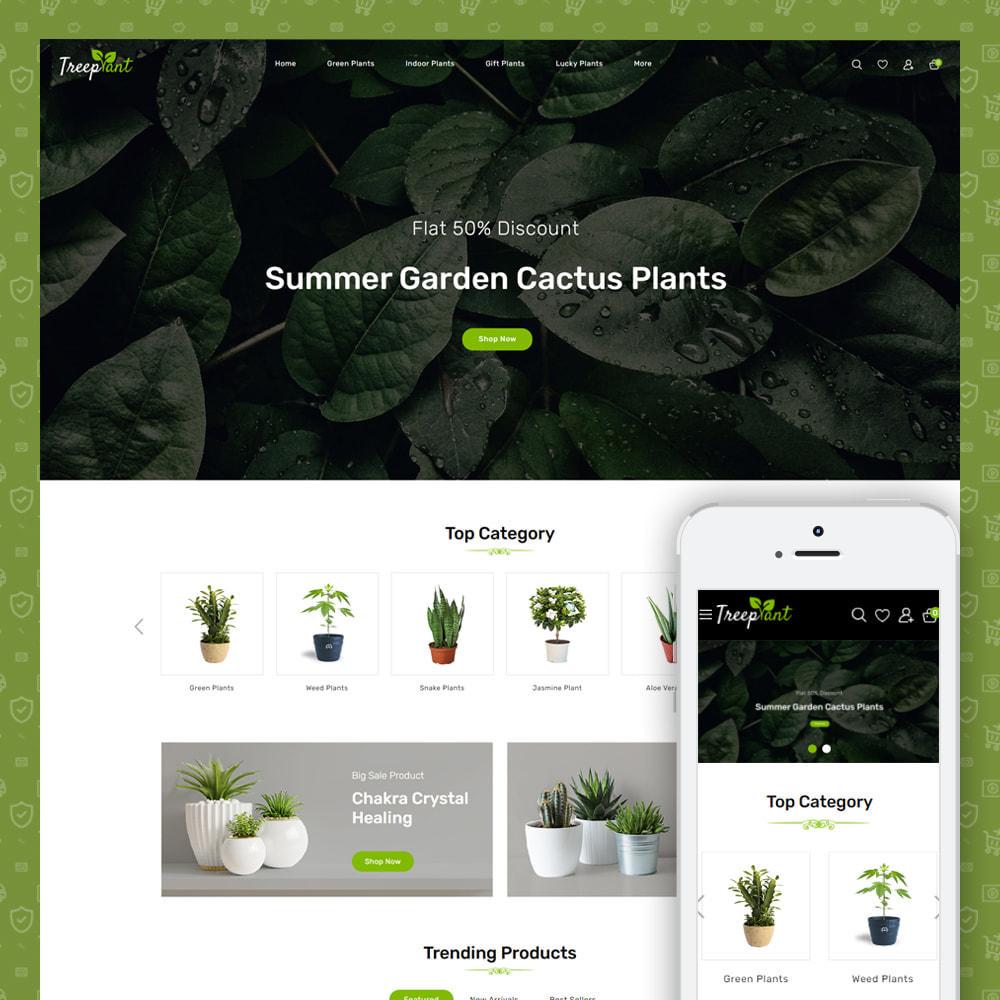 theme - Home & Garden - TreePlant - Garden Plant Store - 1