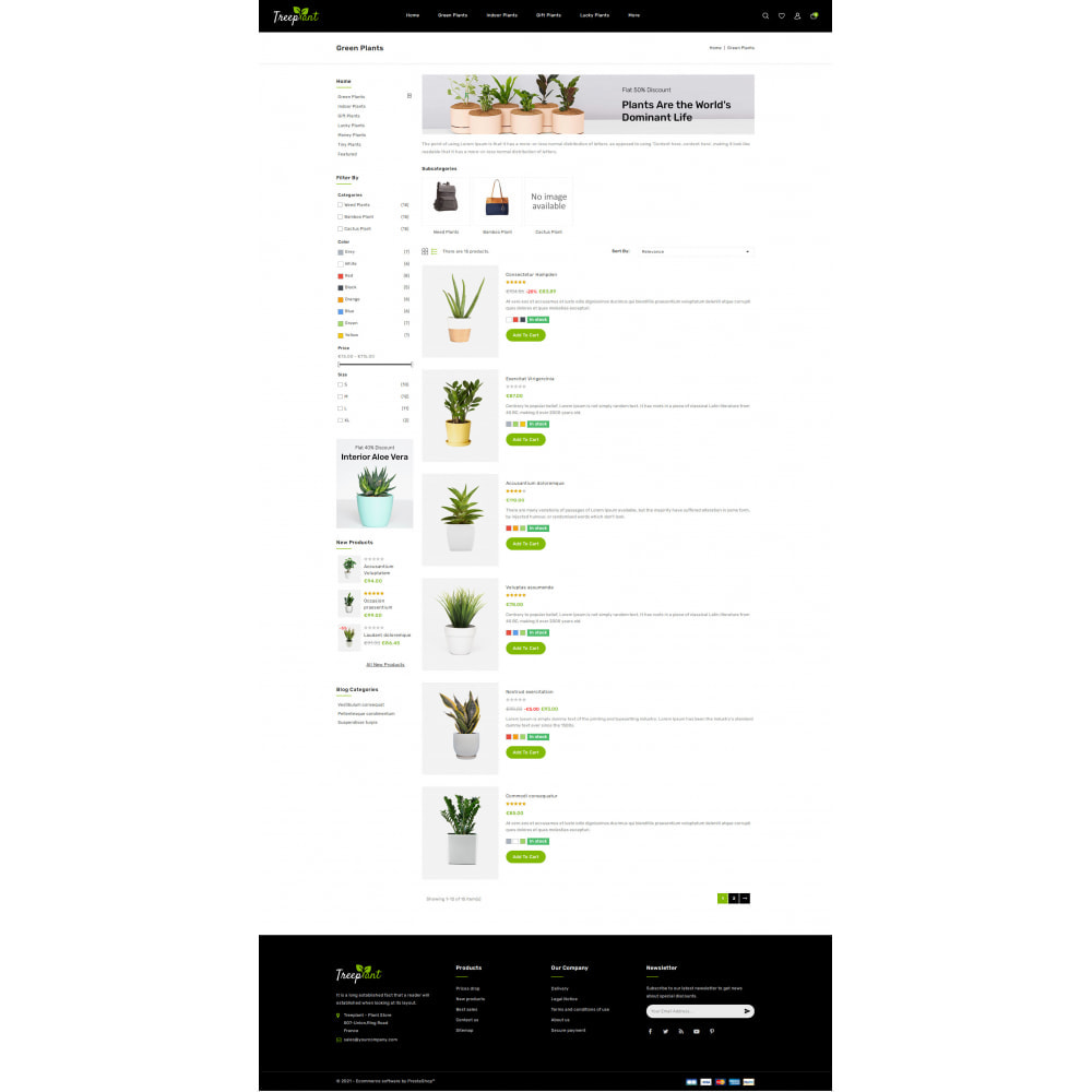 theme - Home & Garden - TreePlant - Garden Plant Store - 4