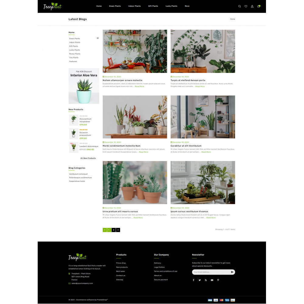 theme - Home & Garden - TreePlant - Garden Plant Store - 9