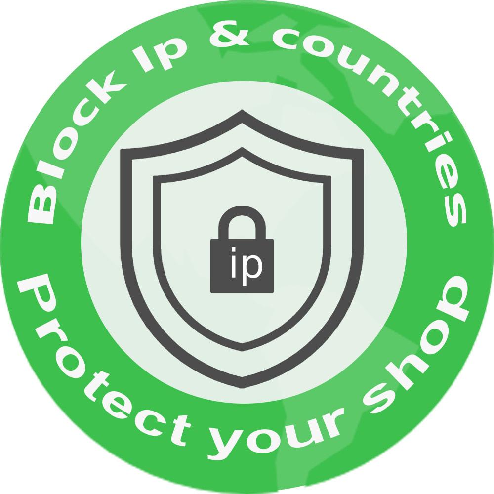 module - Sicherheit & Berechtigungen - Block Ip-Adresse / Land - 1