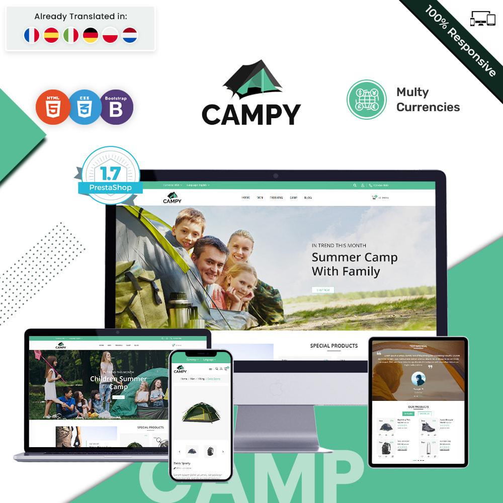 theme - Sports, Activities & Travel - Campy - Trekking Store - 1