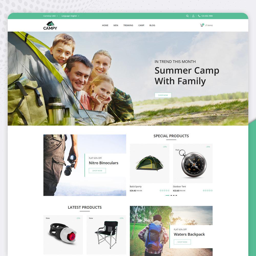 theme - Sports, Activities & Travel - Campy - Trekking Store - 2