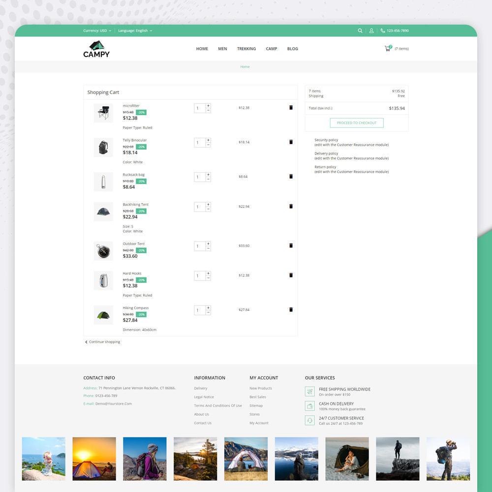 theme - Sports, Activities & Travel - Campy - Trekking Store - 6