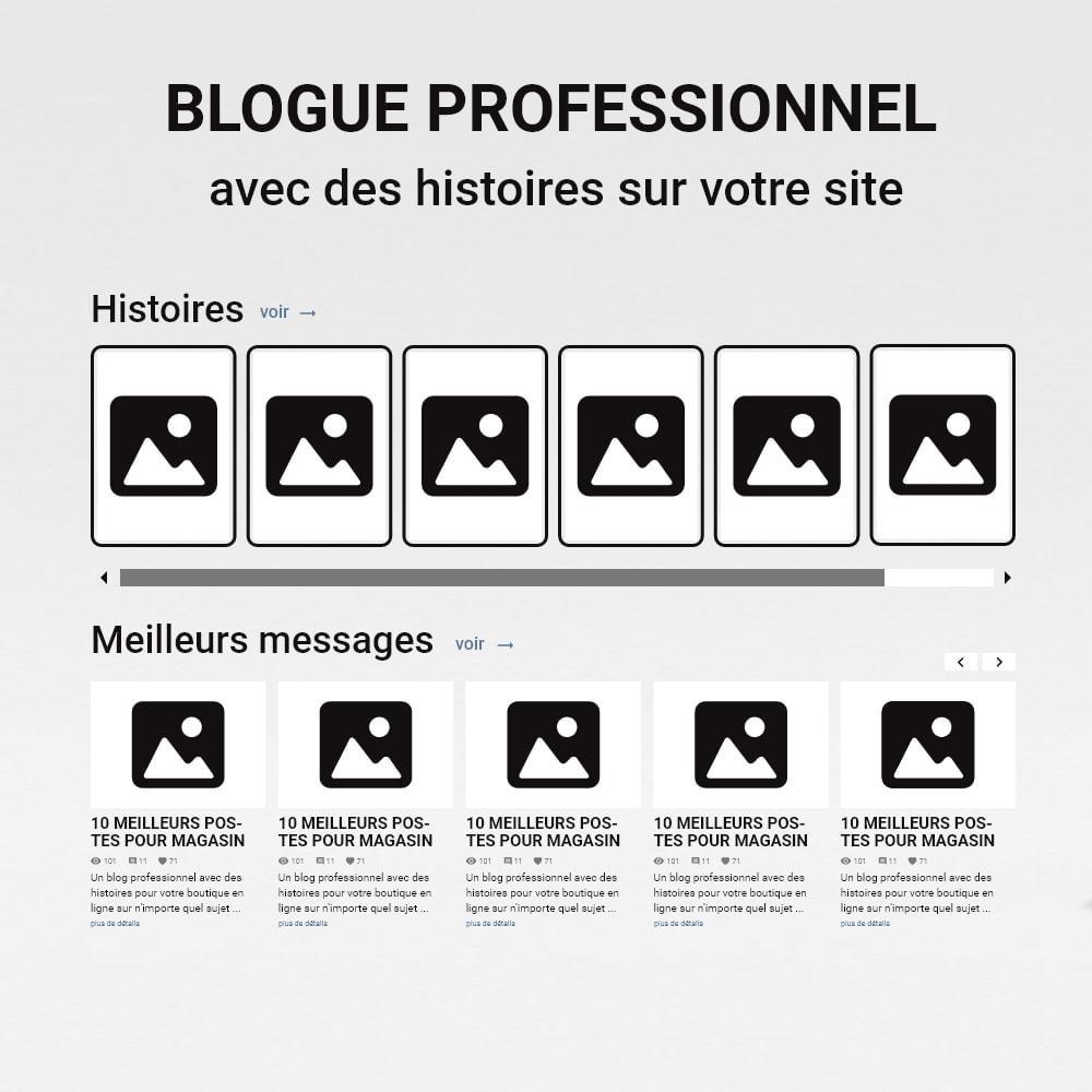 module - Blog, Forum & Actualités - Blog avec des histoires - 2