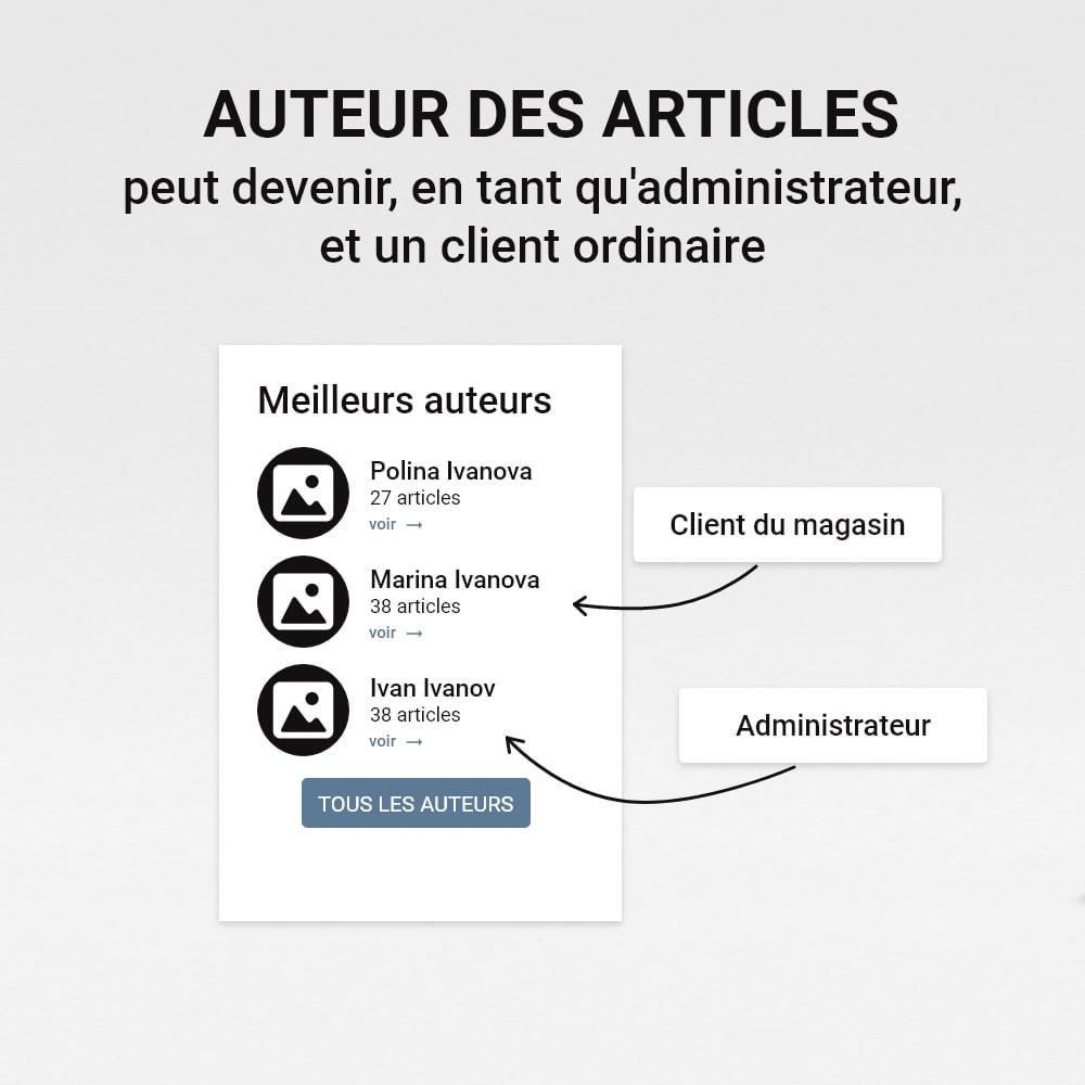 module - Blog, Forum & Actualités - Blog avec des histoires - 3