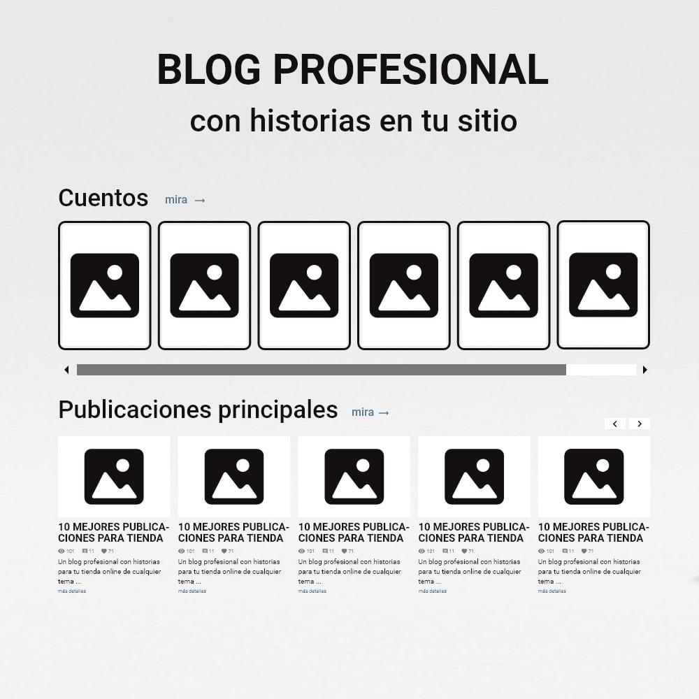 module - Blog, Foro y Noticias - Blog con historias - 2