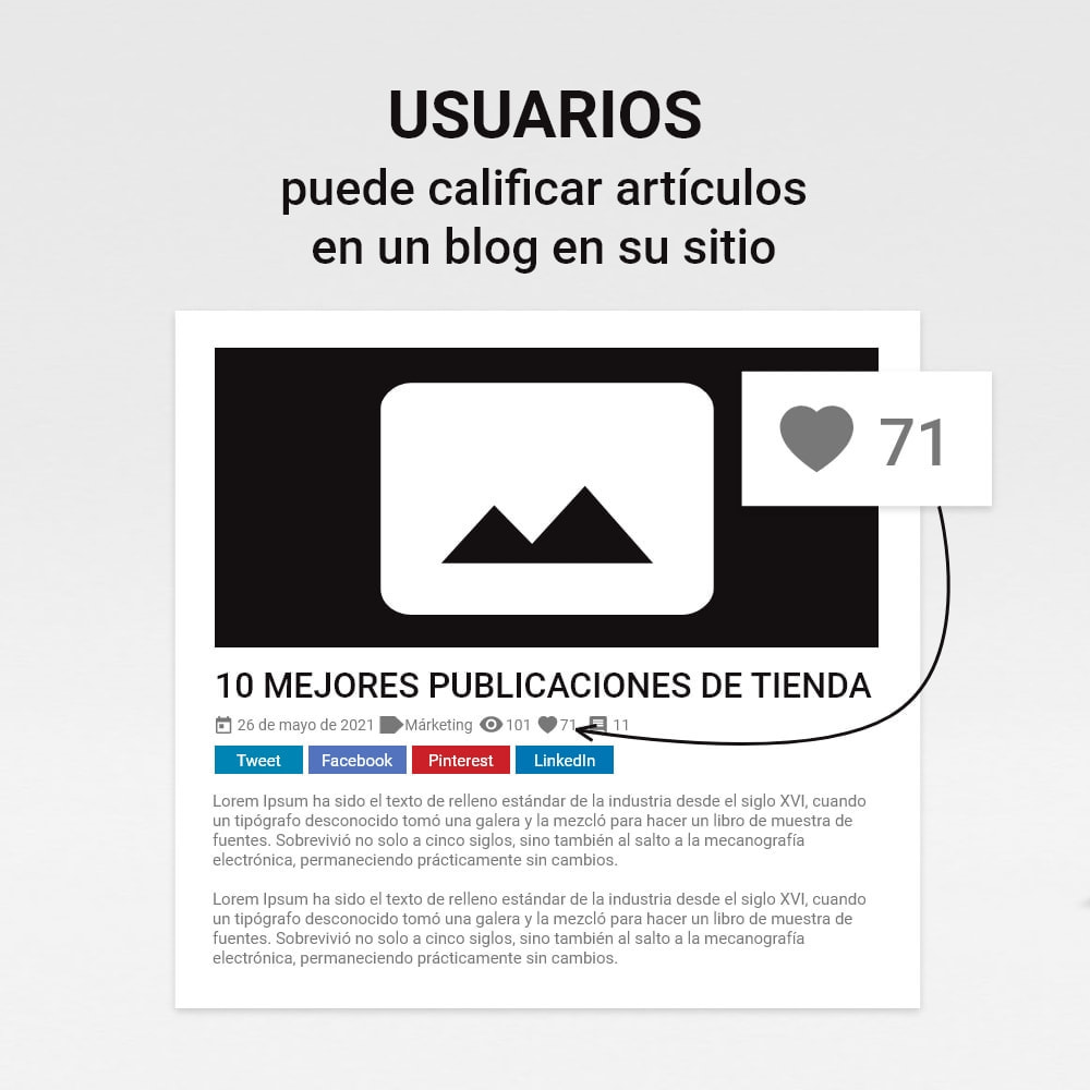 module - Blog, Foro y Noticias - Blog con historias - 6
