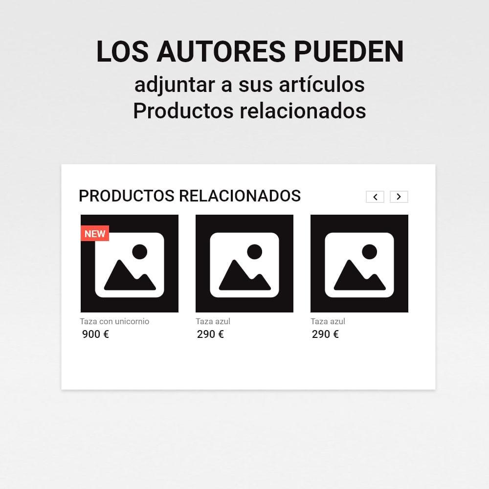 module - Blog, Foro y Noticias - Blog con historias - 9