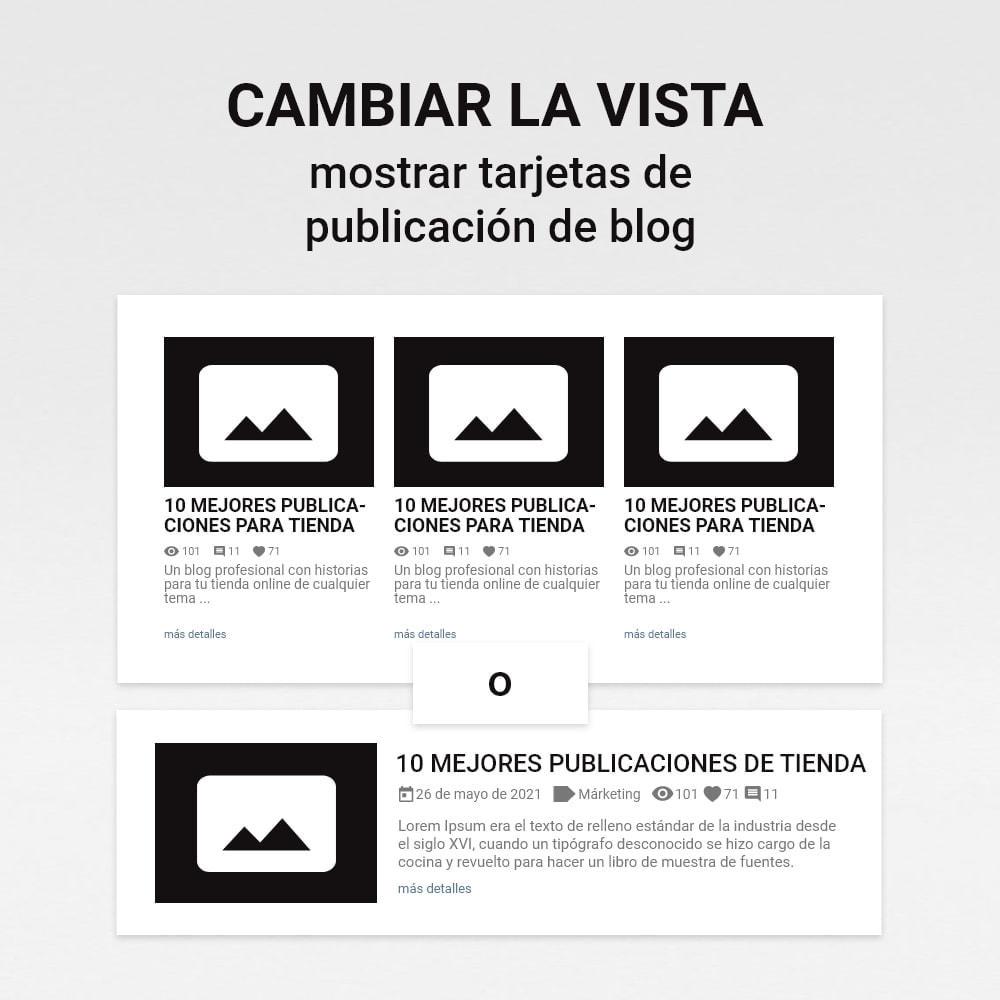 module - Blog, Foro y Noticias - Blog con historias - 12