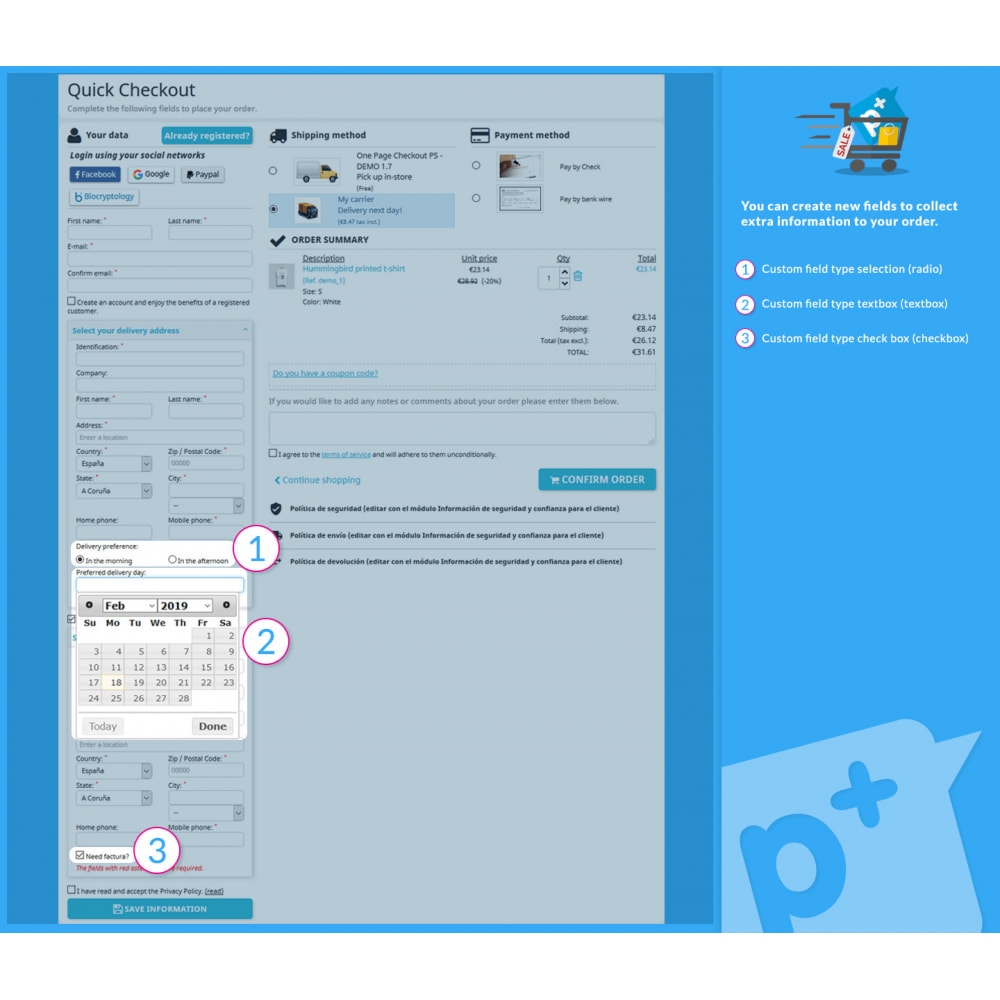 module - Processo de pedido - One Page Checkout PS (Easy, Fast & Intuitive) - 5
