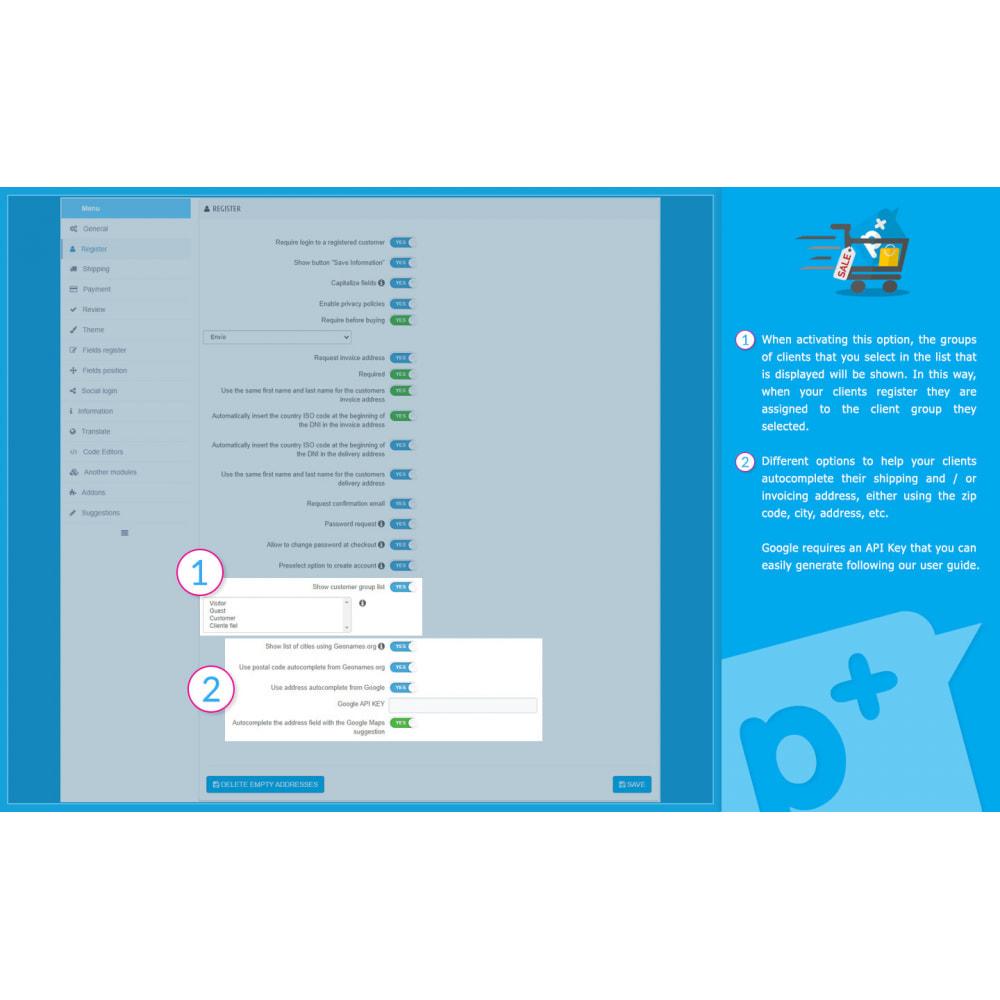 module - Processo de pedido - One Page Checkout PS (Easy, Fast & Intuitive) - 16