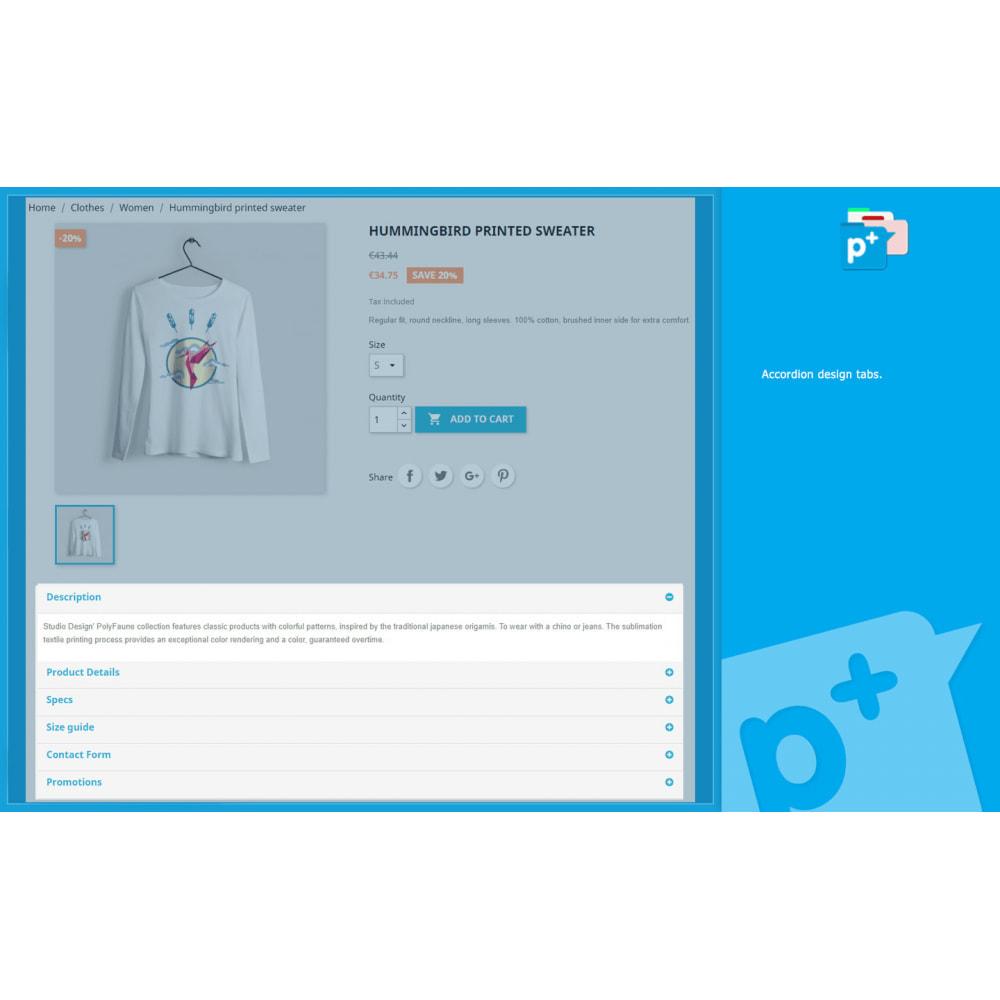 module - Zusatzinformationen & Produkt-Tabs - Product Extra Tabs - Tabs additional information - 2