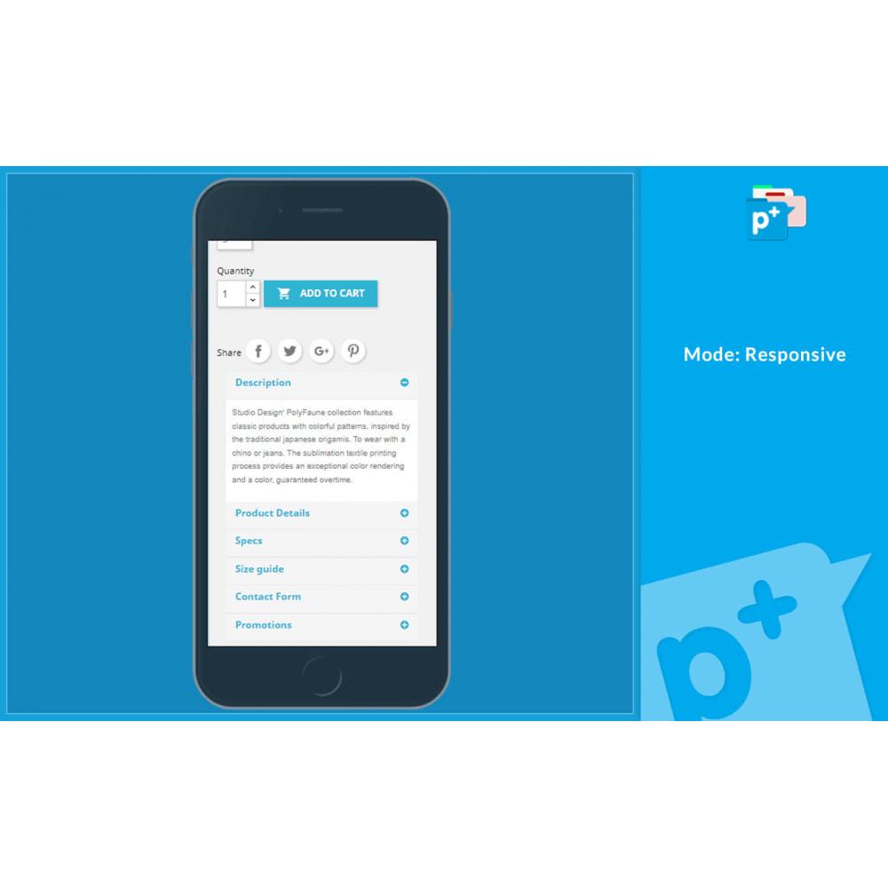module - Zusatzinformationen & Produkt-Tabs - Product Extra Tabs - Tabs additional information - 5