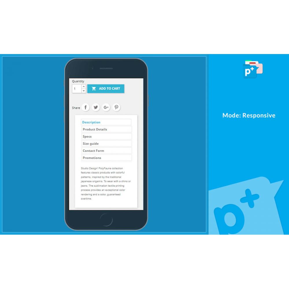 module - Zusatzinformationen & Produkt-Tabs - Product Extra Tabs - Tabs additional information - 6
