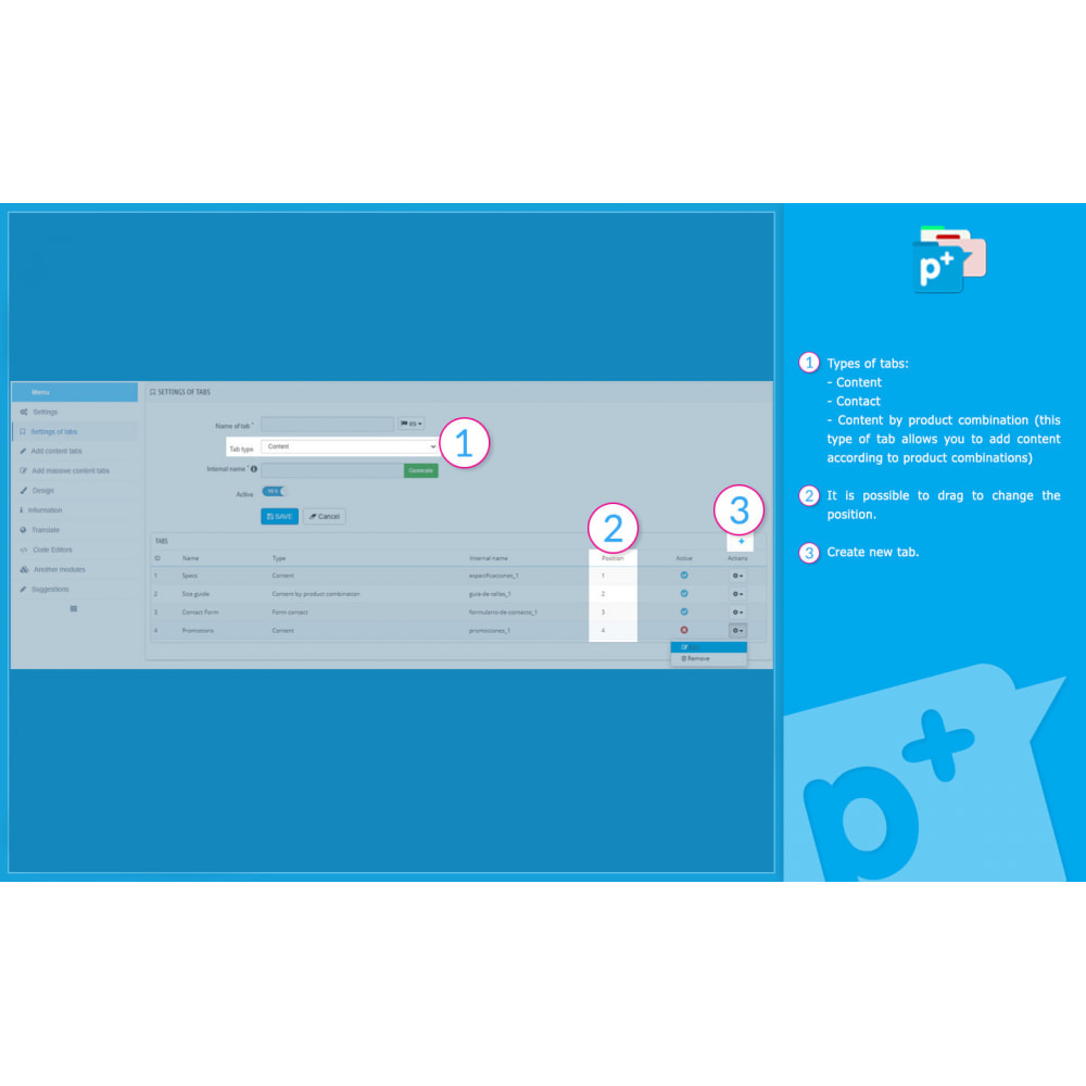 module - Zusatzinformationen & Produkt-Tabs - Product Extra Tabs - Tabs additional information - 9
